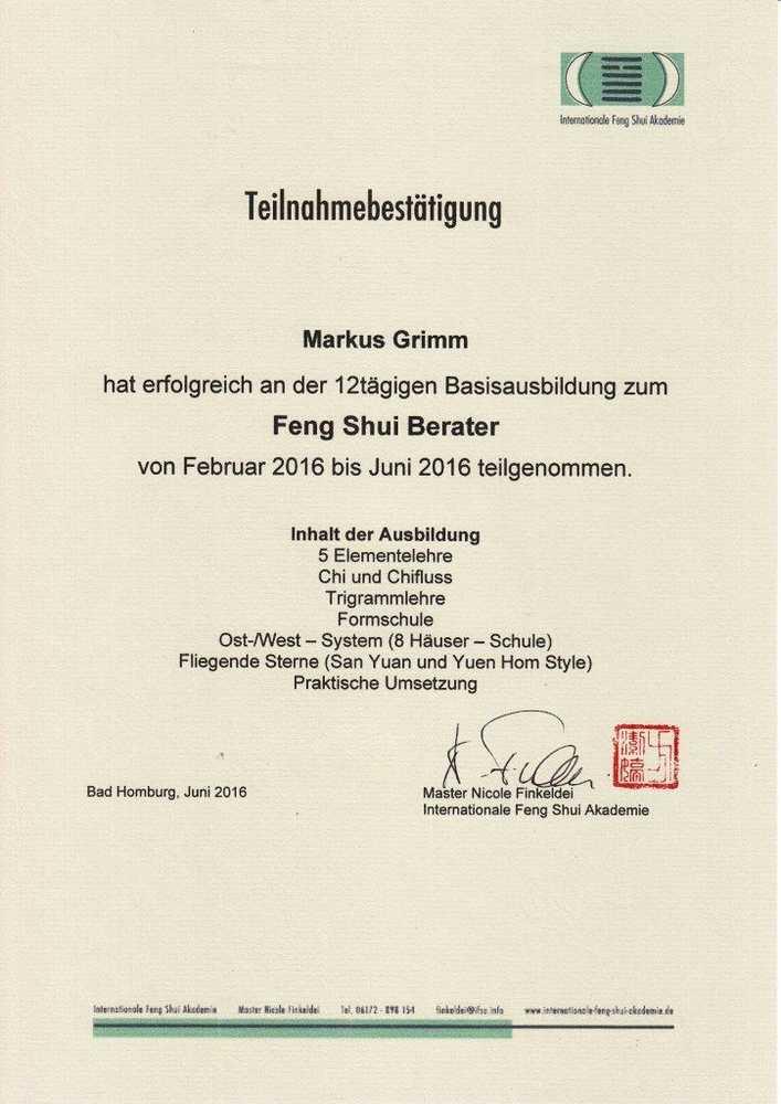 Feng Shui Akademie feng shui akademie dein feng shui sabine fischer design mit feng